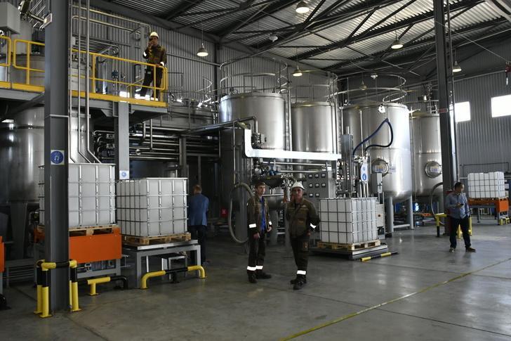 В Краснодаре открылся новый завод строительной химии