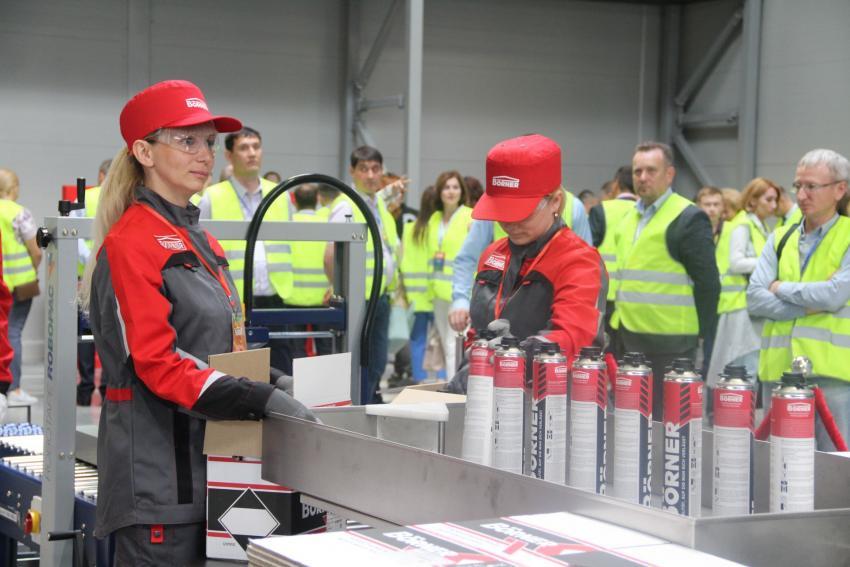 В ОЭЗ «Алабуга» открылся Завод BOERNER