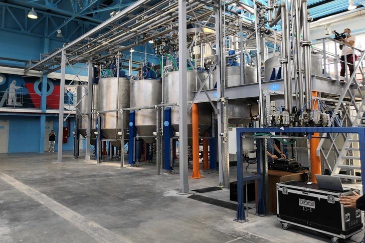 Новый завод строительных покрытий компании «ОЗ»