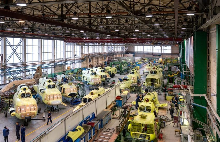 Авиазавод в Улан-Удэ заканчивает масштабную модернизацию
