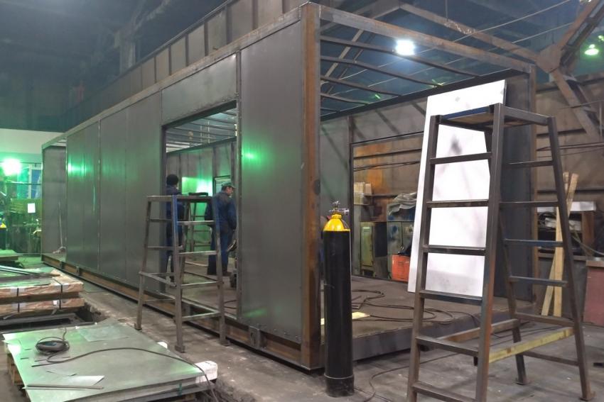 В Калужской области начато строительство завода блок-контейнеров