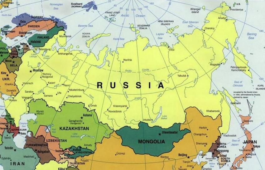 Какое место занимает Россия среди экономики мира?