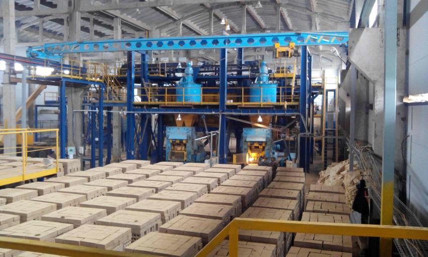 В Калининградской области введен в эксплуатацию завод по производству силикатного кирпича