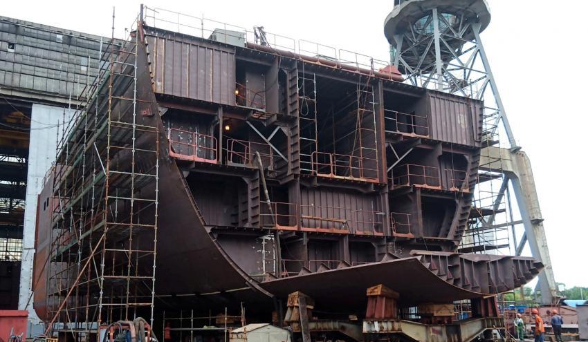 «Владимир Андреев»: в Прибалтике строят огромный корабль, который может стать гордостью нашего ВМФ