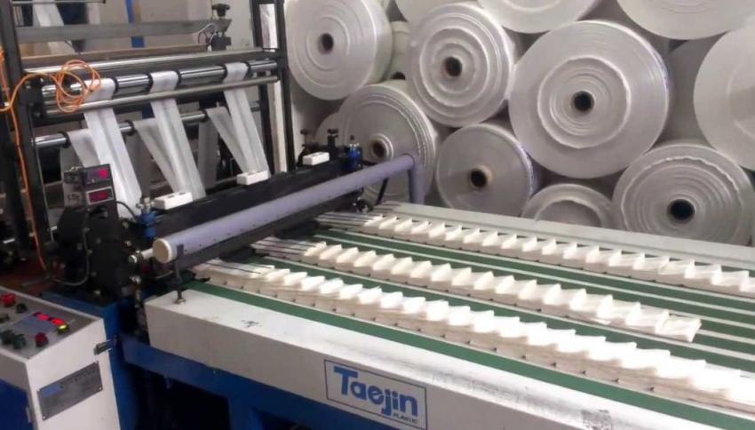 Открытие цеха по производству пакетов