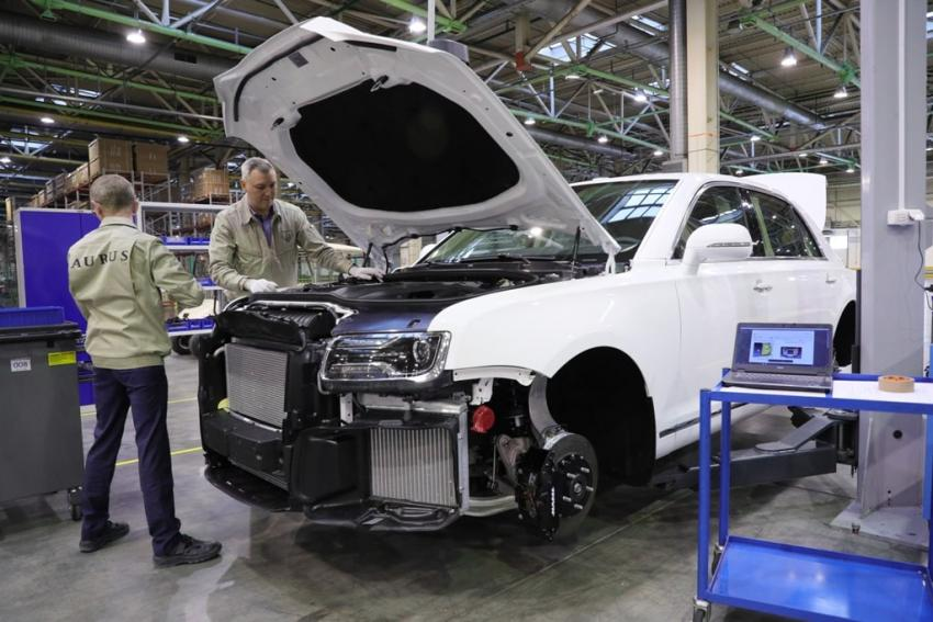 На базе премиум седана «Аурус» построен прототип автомобиля на водороде