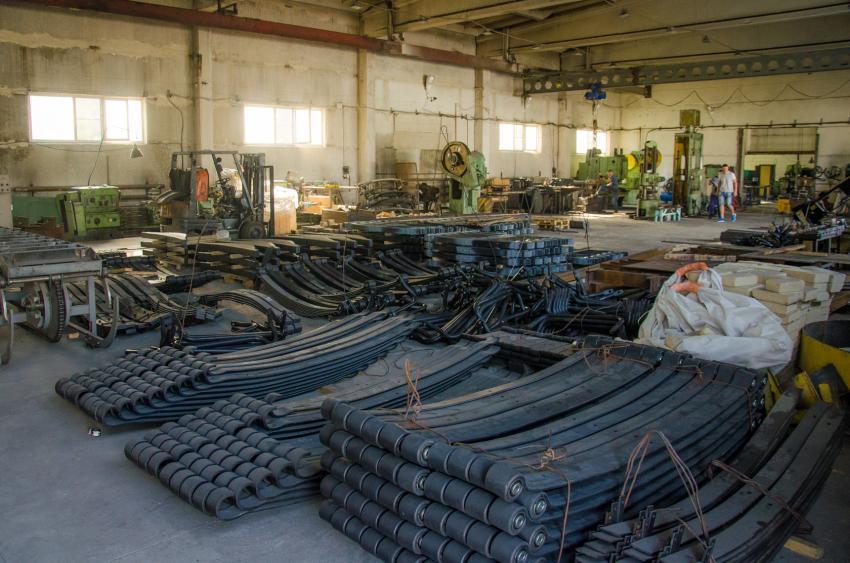 Новое производство рессор открыто в Белорецке
