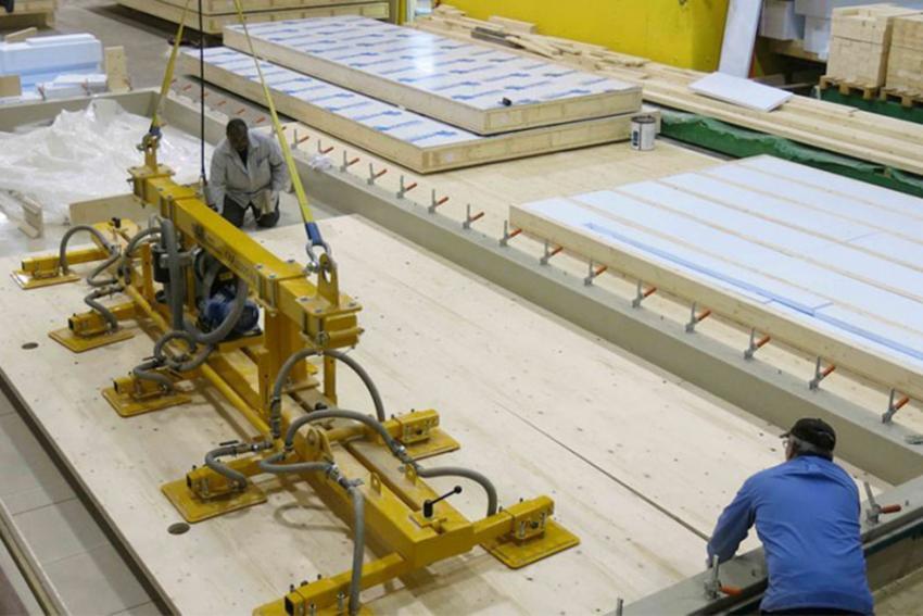В Ленобласти начато производство строительных CLT-панелей