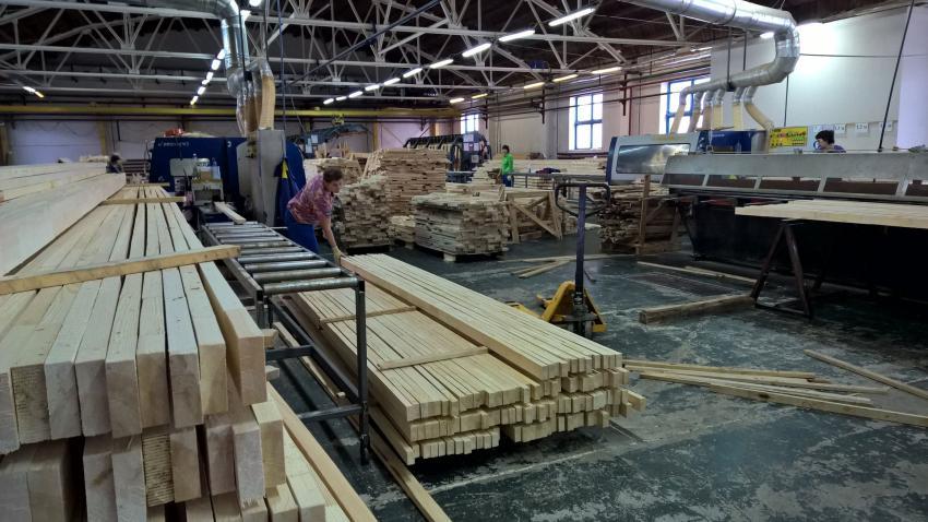 Сосьва-Лес запустила новое производство пиломатериалов в Свердловской области