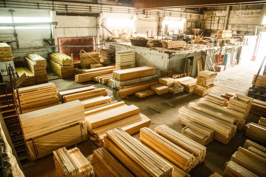 Вторая очередь деревообрабатывающего предприятия запущена в Свердловской области