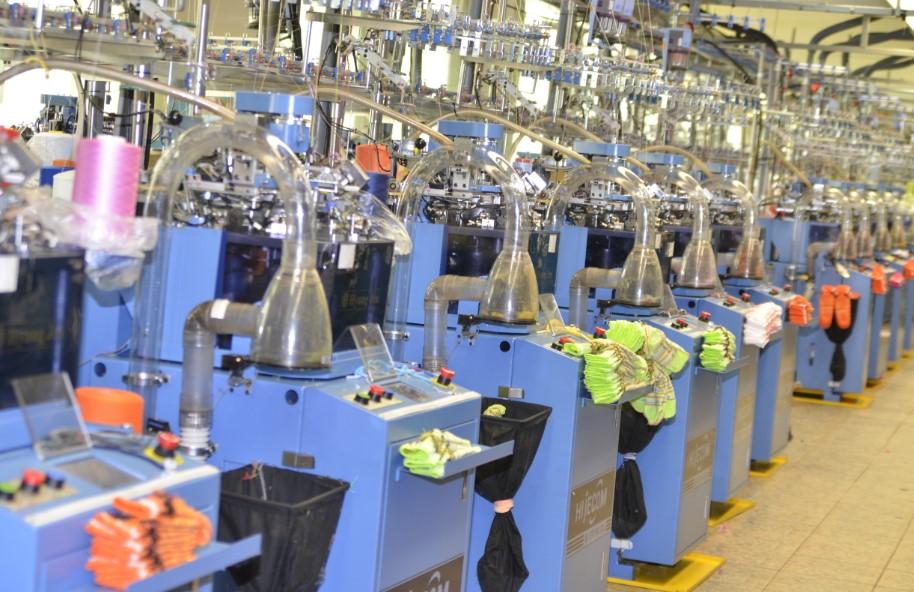 Открытие цеха трикотажного производства