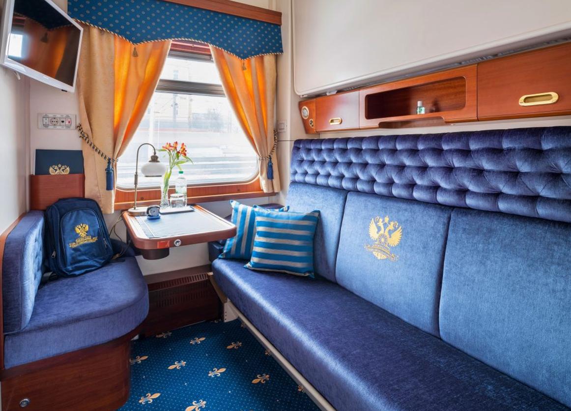 «Золотой Орёл»: В России курсирует поезд, самый недорогой билет на который стоит 1 миллион рублей