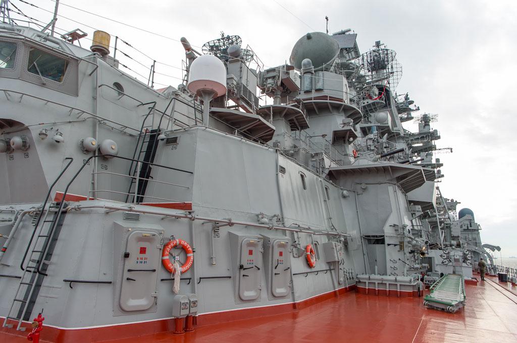«Петр Великий» – российский атомный богатырь. Таких мощных кораблей нет даже у США